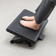 フットレスト(足置き・オフィスデスク向け・大型・角度調整可能)