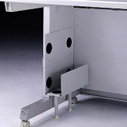 CPUスタンド(PC幅82~108mm対応・省スペースCPU用・デスク取付)