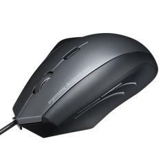 腱鞘炎予防マウス(エルゴノミクスマウス・有線・腱鞘炎防止・ブルーLED・5ボタン)