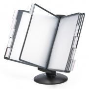 書見台(データホルダー・原稿台・ブック式・A4対応・横向き・縦向き・両面・90度無段階調節)