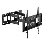 【ウルトラセール】壁掛けテレビ金具(ダブルアームタイプ・汎用・32~52インチ対応・前後&角度&左右調節対応)