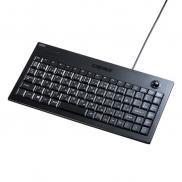 トラックボール付きキーボード(USB接続・薄型メンブレン)